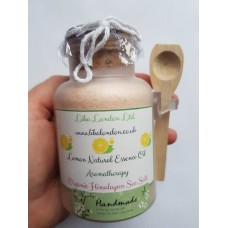 Handmade Lemon Organic Bath Salt, Aromatherapy, Bath gift, Bath and Beauty, Natural Bath, Scented Bath Salt, Wedding, Gift, Birthday