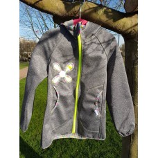 Handmade Girls Jacket, Girls Coat, Childrens Clothing, Hooded Jacket, Coat Jacket, Girls, Grey Jacket, Girls Clothing, Girls fashion, for girls