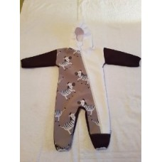 Handmade Overall, Girls, Boys, Softshell, Overall Hooded, Jumpsuit, Unisex, Infants, Toddler, Childrens Clothing