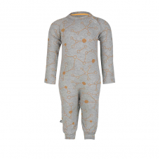 Organic Jumper Molecule with long sleeves - colour SATURN GOLD