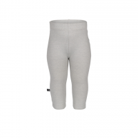 Organic Plain Leggings - colour MOON GREY
