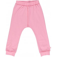 Organic Basic Jersey Trousers - colour ROSE