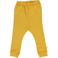 Organic Basic Jersey Trousers - colour OCHRE