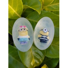 2pcs Various Handmade Natural Soap, Soap Toy, Minions, Childrens gift, Party, Birthday, for girl, for boy, children, kids