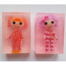 Handmade Soap, Various Dolls, Toy, Childrens Gift, Girls Gift, Soap Making, for Girls, Toy Figure, Bath Toy, Birthday Gift, Party Gift, Dolls, Game, LalaLoopsy
